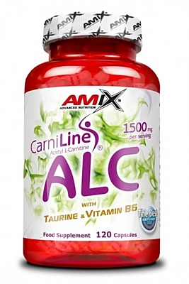 Amix ALC Acetyl LCarnitine Taurine + Vitamin B6 120 tablet