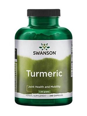Swanson Kurkuma (Turmeric) 720 mg 240 kapslí