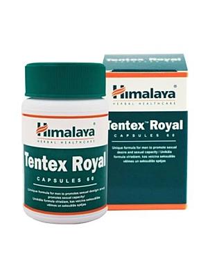 Himalaya Herbals Tentex Royal 60 kapslí