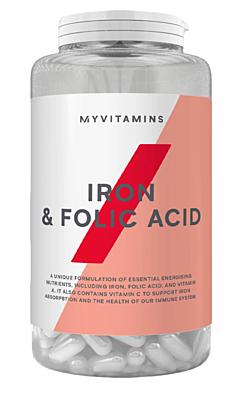 MyProtein Železo a kyselina listová 90 tablet