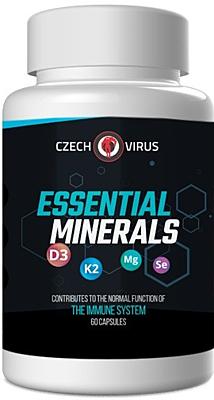 Czech Virus Essential Minerals 60 kapslí