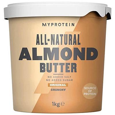 MyProtein Mandlové máslo Křupavé 1000 g