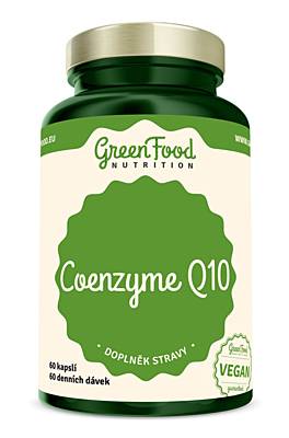 GreenFood Nutrition Coenzym Q10 60 kapslí