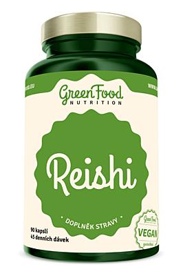GreenFood Nutrition Reishi 90 kapslí