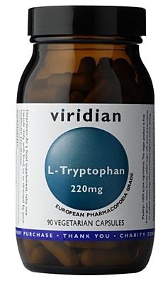 Viridian L-Tryptophan 220mg 90 kapslí