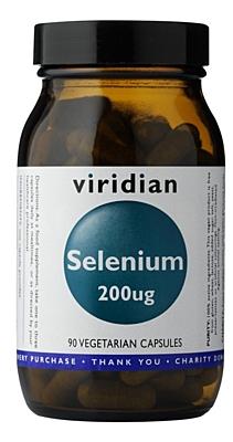 Viridian Selenium 200µg 90 kapslí