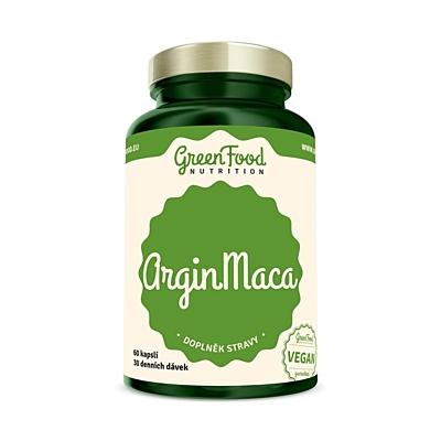 GreenFood Nutrition ArginMaca 90 kapslí