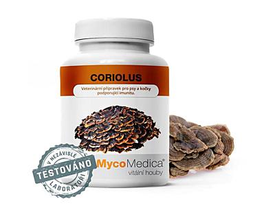 MycoMedica Coriolus 40 % 90 kapslí