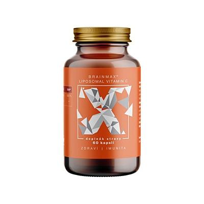 BrainMax Lipozomální Vitamín C 500 mg 60 kapslí