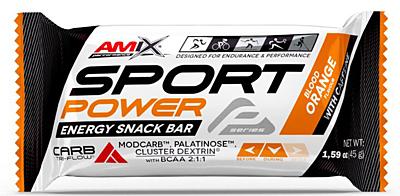 Amix Sport Power Energy Snack Bar s kofeinem